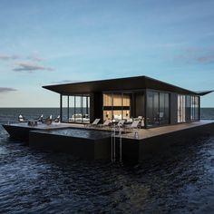 """3,400 kedvelés, 108 hozzászólás – Chad Carroll (@chadcarroll) Instagram-hozzászólása: """"Rare Floating Villa - $6,500,000 . . - 3 Bedrooms / 1 Underwater Room - Pool / Jacuzzi - Gourmet…"""""""