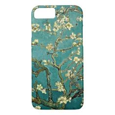 Blossoming Almond Tree Vintage Floral Van Gogh iPhone 8/7 Case - floral gifts flower flowers gift ideas