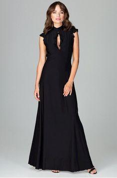 2000b949ad47 Black maxi dress απο το Style Icon για ένα σίγουρα εντυπωσιακό βραδυνό  look!! ✨