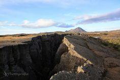 Bruchspalte in Island