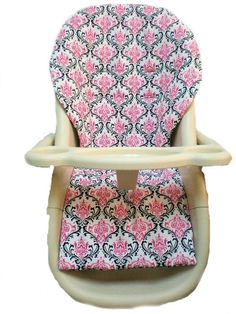 Graco High Chair Cover Pad Replacement Two Tone Hot Pink