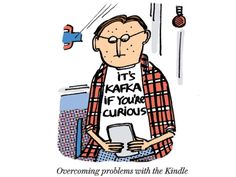 30 funniest cartoons about ebooks and digital reading