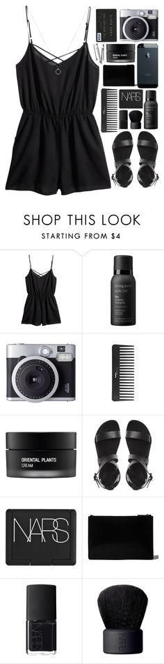 """summer days just drifting away, to all all the summer nights // my dream wardrobe pt.12"" by undercover-martyn ❤ liked on Polyvore featuring H&M, Living Proof, Fujifilm, Sephora Collection, BOBBY, Koh Gen Do, NARS Cosmetics, Jil Sander, DateNight and drivein"