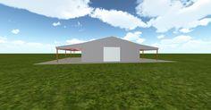 Cool 3D #marketing http://ift.tt/2sCpMxq #barn #workshop #greenhouse #garage #roofing #DIY