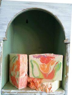 Kumquat Citrus Raw Goat Milk soap with Heavy by NaturalCottage