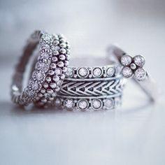 Zomerse combinatie van ACsieraden ringen