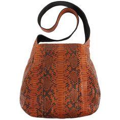 Michael Kors Safari Python Crossbody Bag 2 995 Liked On Polyvore Bags 39 99 At Wholehub