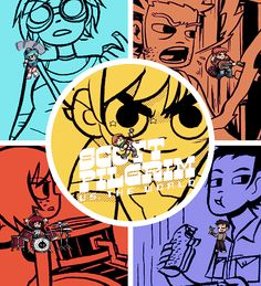 "key-to-the-emblem: "" Scott Pilgrim is thE best "" Scott Pilgrim Comic, Bryan Lee O Malley, Ramona Flowers, Gamers Anime, Ingo Maurer, Vs The World, Scandal Quotes, Glee Quotes, Scandal Abc"