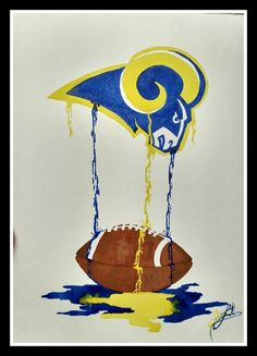 How cool are these?! Sports dripping paintings only created by Jamie Leatherman, The Mezy Artist @ themezyartist.com Drip Painting, Artist Painting, Painting Parties, Paint Party, Tweety, Paintings, Cool Stuff, Create, Sports