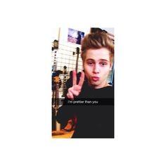 luke hemmings Snapchat imagines ❤ liked on Polyvore featuring 5sos, luke hemmings, people, snapchat and instagram