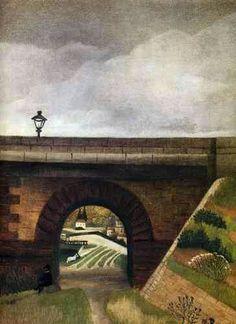SEVRES BRIDGE by Henri Rousseau