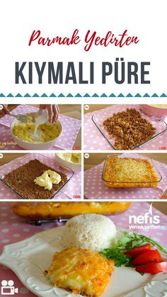 Kıymalı Püre – Nefis Yemek Tarifleri How to Make Mince Mash Recipe? Turkish Recipes, Ethnic Recipes, Mash Recipe, Meatball Recipes, Mince Recipes, Good Smile, Iftar, Homemade Beauty Products, Food Pictures