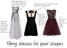 Party Dresses Pear Shaped Bospear