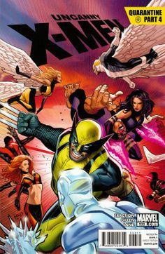 Uncanny X-Men Vol 1 533 - Marvel Comics Database    greg land