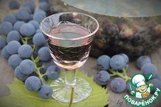 Виноградная настойка Пряно-пьяная Изабелла