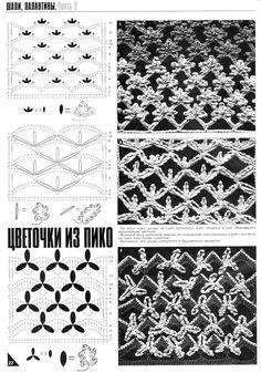 Motivos em Renda - / Motifs up Rent - Crochet Chart, Crochet Motif, Crochet Lace, Crochet Stitches, Irish Lace, Dress Picture, Lace Patterns, Lace Knitting, Views Album