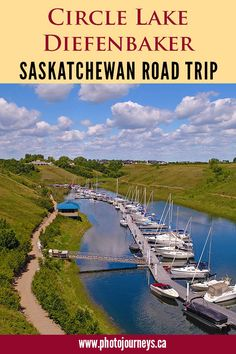 Explore Lake Diefenbaker on an exciting Saskatchewan road trip around the lake. Visit photogenic spots, do some fishing, hiking or boating, and visit three provincial parks. Lakeside Camping, Lakeside Park, Camping Places, Places To Travel, Travel Route, Travel Trip, Cool Places To Visit, Places To Go, Canadian Holidays
