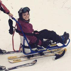 i went skiing!