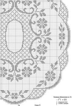 Kira scheme crochet: Scheme crochet no. 1188 Filet Crochet, Crochet Diagram, Crochet Chart, Thread Crochet, Crochet Doily Patterns, Crochet Motif, Crochet Designs, Crochet Doilies, Crochet Lace