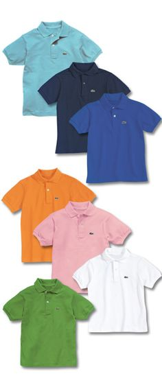 pastel polo shirt for Easter, stripped or white shorts or pants