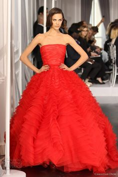 christian dior spring summer 2012 couture