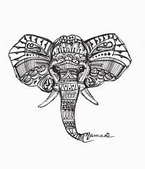 indian elephant drawing - Buscar con Google