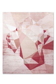 """Teppiche: Die Trends für den Boden - Bestes modernes Design Deluxe: Rug Star by Jürgen Dahlmanns """"Heart No. 01 Original"""". ( Rug / carpet )"""