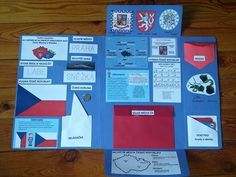 Lapbook Česká republika / Zboží prodejce zichisek | Fler.cz School Projects, Classroom, Let It Be, Teaching, Education, Canada, Lap Books, Praha, Homeschooling