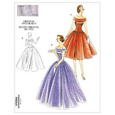 Mccall Pattern V1094 Ee (14-16--Vogue Pattern