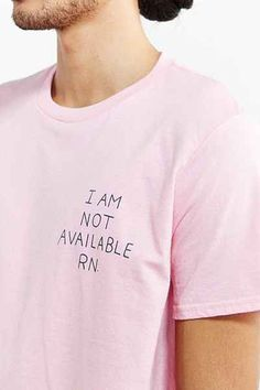 ASHKAHN Not Available Tee - Urban Outfitters