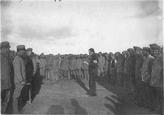 Rabat  Camp de prisonniers allemands, la prière   1915