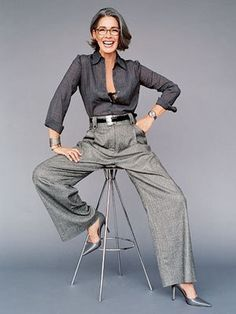 1000+ ideas about Fashion Over 50 on Pinterest | Fifty Not Frumpy ... #over50fashionfiftynotfrumpy