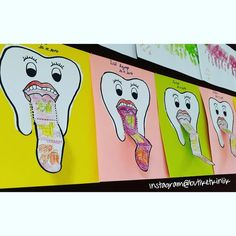 Mouth care is an area in nursing that seems to have a low priority (Griffiths and Boyle, English Activities, Preschool Learning Activities, Preschool Activities, Childhood Education, Kids Education, Plastic Cup Crafts, Dental Posters, Health Fair, Holiday Crafts For Kids
