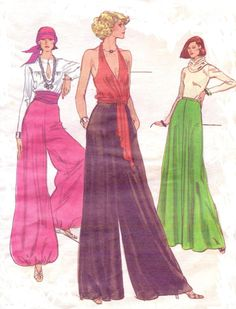 70s Very Easy Vogue Sewing Pattern 9663 Womens by CloesCloset, $24.00