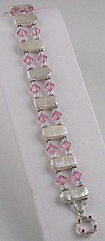 IDEA: Pearly Pink Bracelet (eebeads.com)