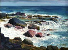 Leslie Sears, Painting En Plein Air