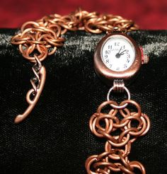 Copper 4-in-1 European Weave Watch.  £20.00 plus P&P