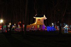Storybook Land during Fantasy with Lights
