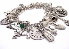 Midnight Margaritas - A Magical Charm Bracelet Pagan Wiccan Witch Witchcraft by BrighidsJewellery on Etsy https://www.etsy.com/listing/209882295/midnight-margaritas-a-magical-charm