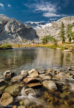John Muir Trail - a 211 mile hike. It is a world famous trail stretching from Yosemite Valley to Mt. Whitney. Overlaps with the PCT.