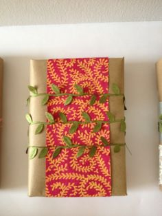 hojas... #wrapping #giftwrapping #envolturas #lapaperie