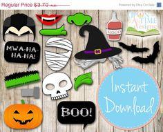 20 OFF SALE INSTANT Download  Halloween by UponATimeDesigns