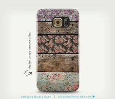 Hey, I found this really awesome Etsy listing at https://www.etsy.com/listing/235164097/samsung-galaxy-s6-case-vintage-floral