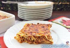 I cannelloni ripieni di carne sono un'alternativa alle classiche lasagne alla…