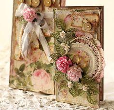 scrapbooking - kartki okolicznościowe-W Dniu Ślubu - kartka + pudełko