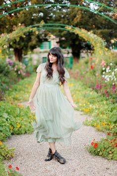 Cherry blossom girl, pretty dress
