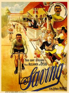 1258 Saving Vintage Bicycle Poster | Flickr - Photo Sharing!
