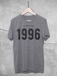 Vintage 1996 T-Shirt   21st Birthday Gift Ideas For Guys & Girls– Hello Floyd
