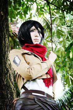 Ydiculous(歪大叔) Mikasa Ackerman Cosplay Photo - Cure WorldCosplay