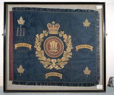 Regimental Colour, 4th (Militia) Battalion The Prince of Wales's Leinster Regiment (Royal Canadians), 1884-1922